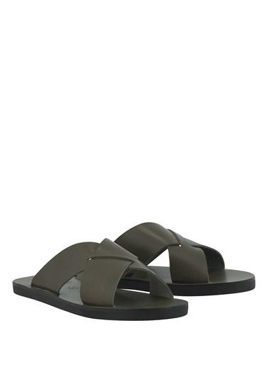 Ancient Greek Sandals Terlik Haki